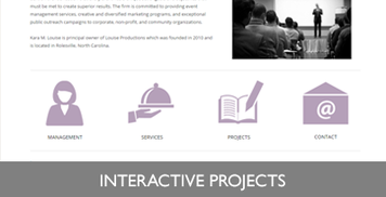 Interactive Projects Button/ Image