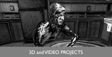 3D/ Video Projects Button/ Image
